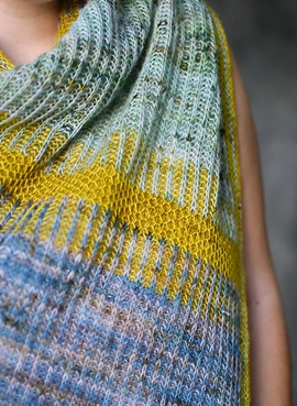 Treelight Shawl by Susanne Sommer
